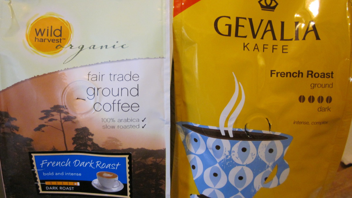 Shoppers Food Warehouse organic coffee sale price is $4.99 while Gevalia grounds retail price is $9.99.