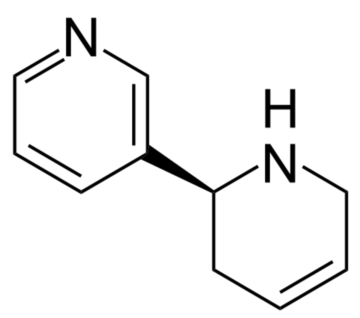 Molecular Structure of Anatabine