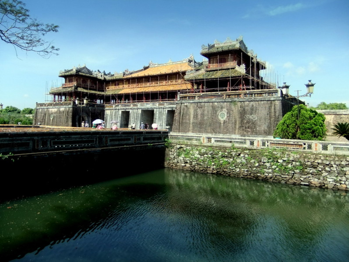 Hue Imperial City, the main entrance