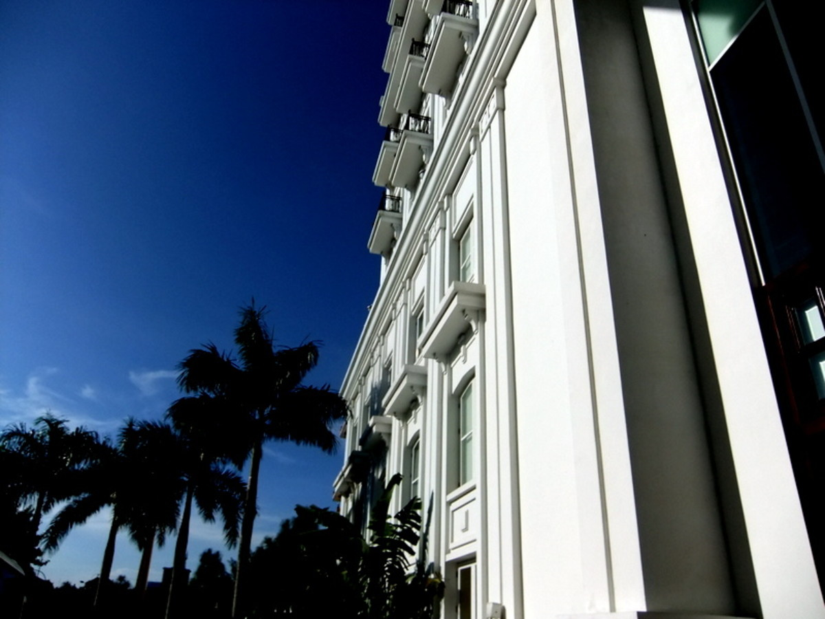 This 5-star Indochine Palace Hotel's mechanical and electrical services were designed by the company that I worked in.