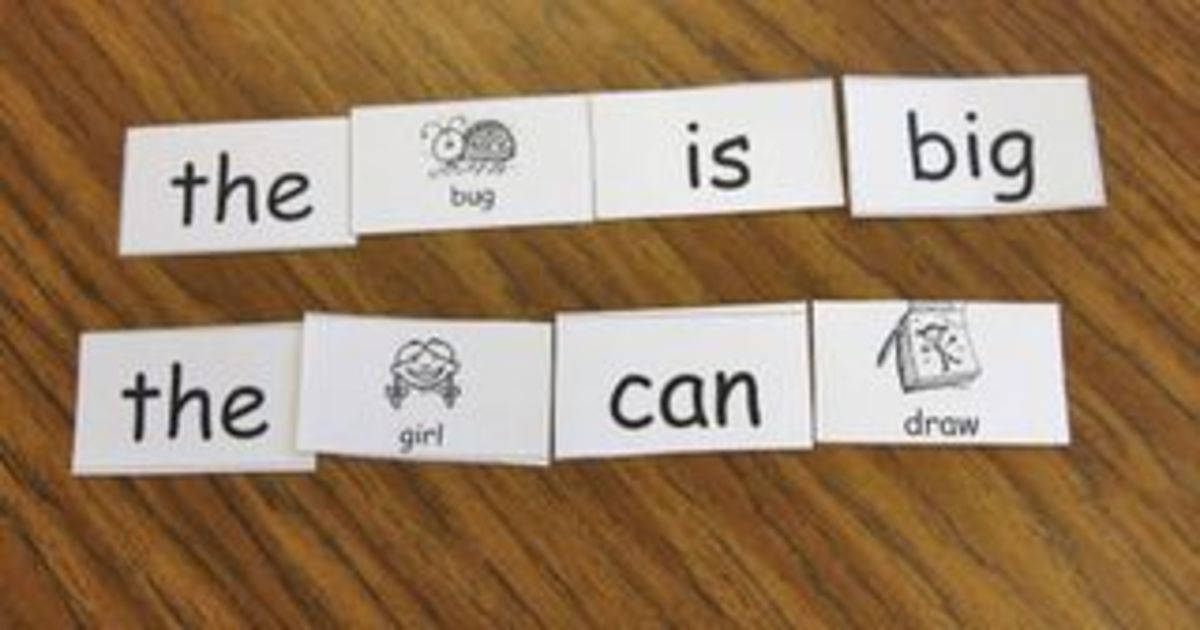 Flashcards are a great method for practicing sight words.