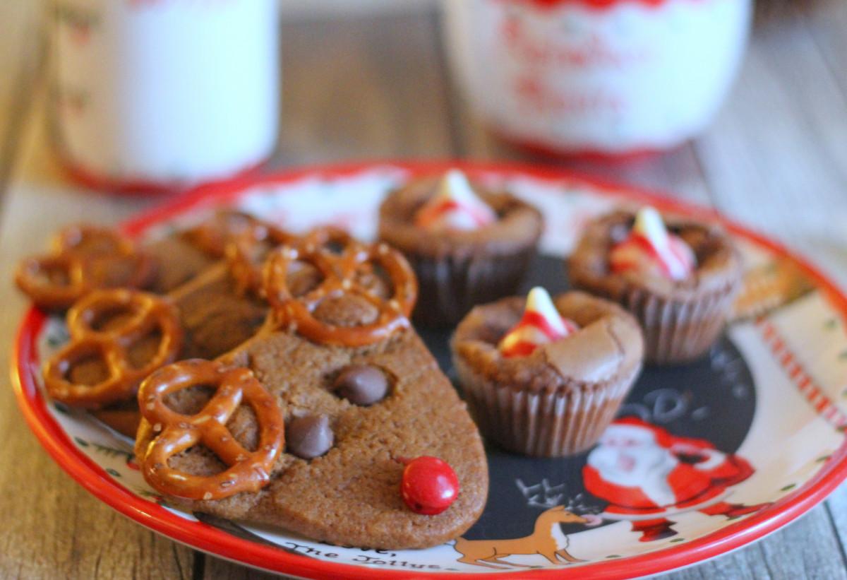 Reindeer Cookies for Santa