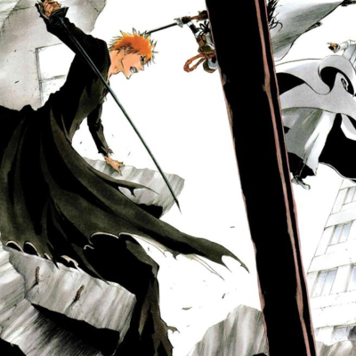 Ichigo vs Aizen fan art