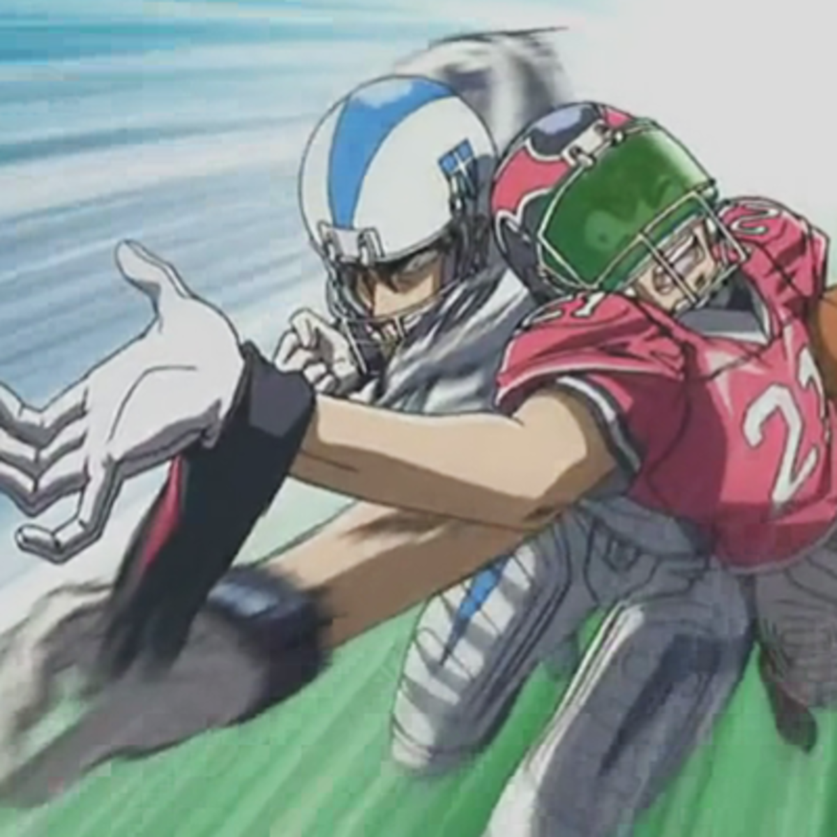 Eyeshield defeated by Shin