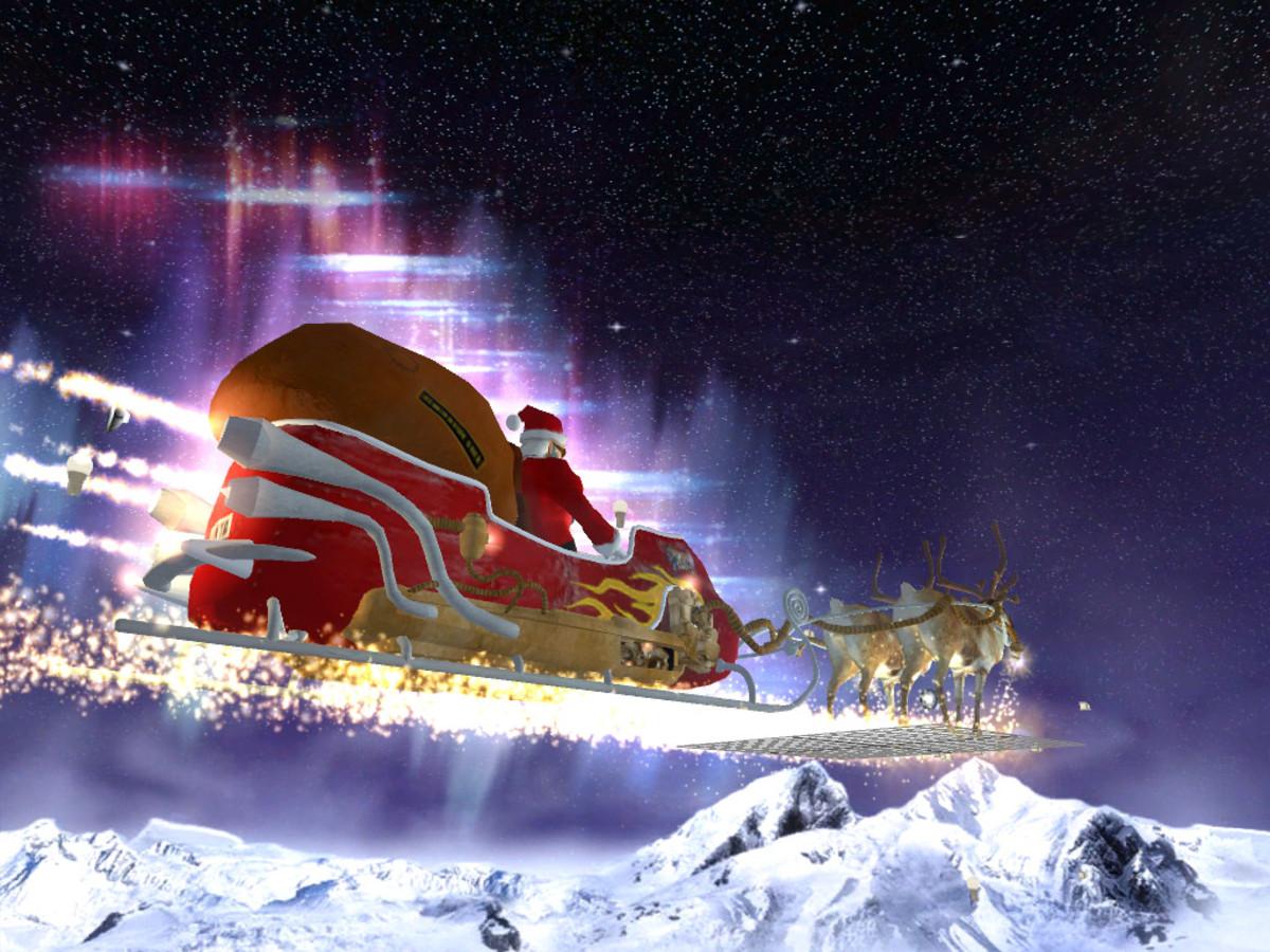 super fast santa sleigh