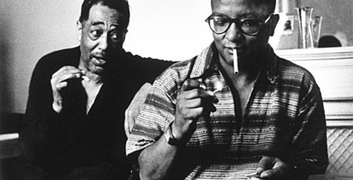 Duke Ellington and Billy Strayhorn by Joan Stoltman, 2012
