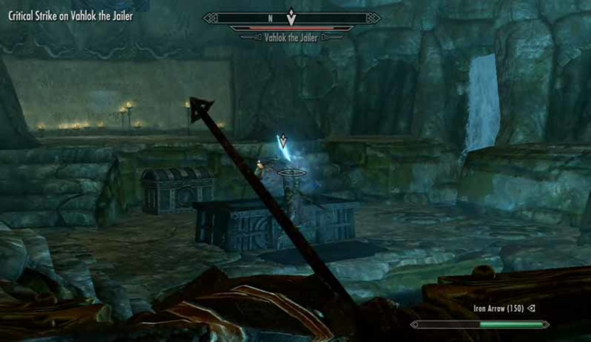 Skyrim Lost Legacy Quest - solve the puzzle and defeat Vahlok the Jailor in the final burial chamber. The final word of power of Battle Fury lies beyond Vahlok.