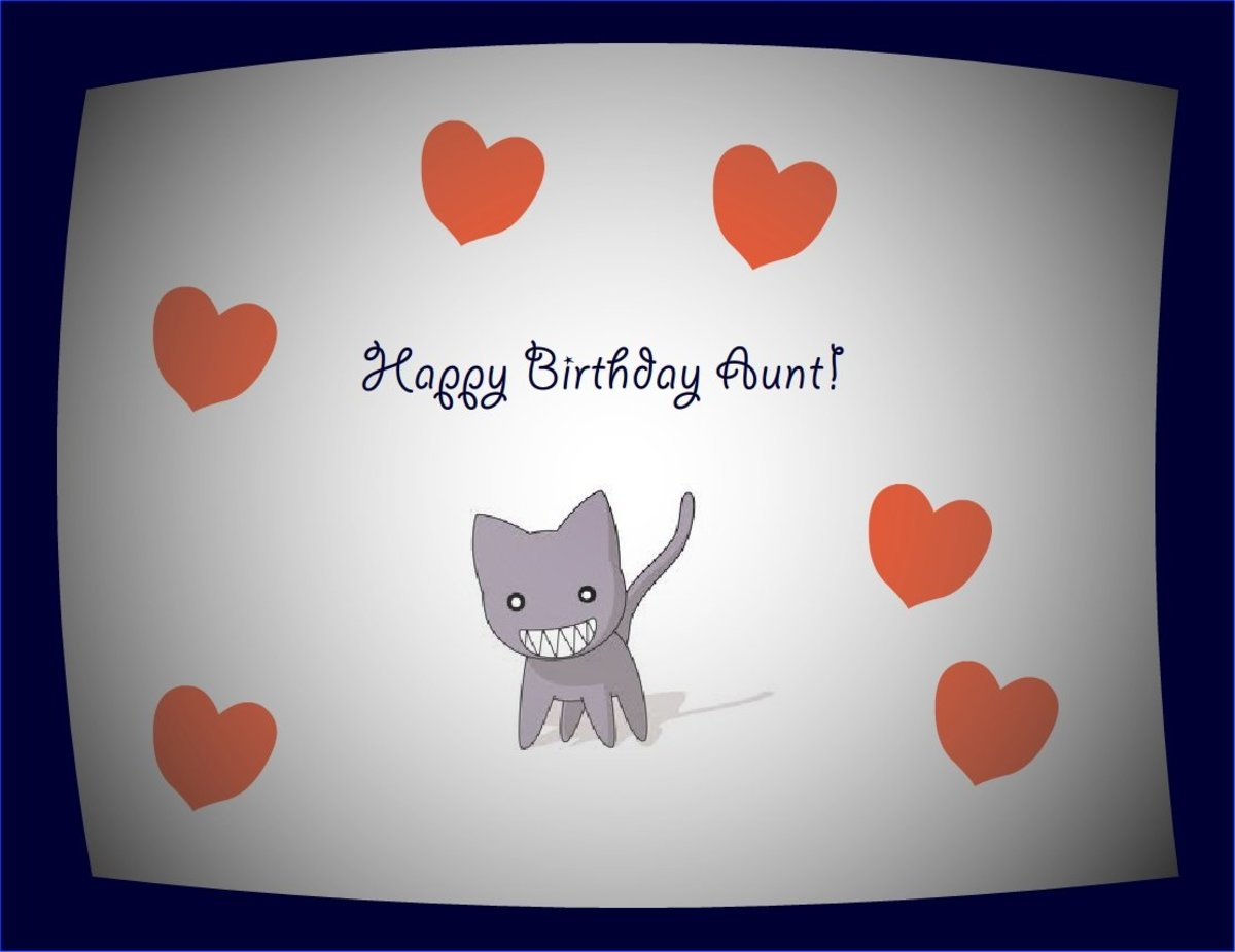 Happy Birthday Wishes For Aunt Cool Messages And Cards Hubpages