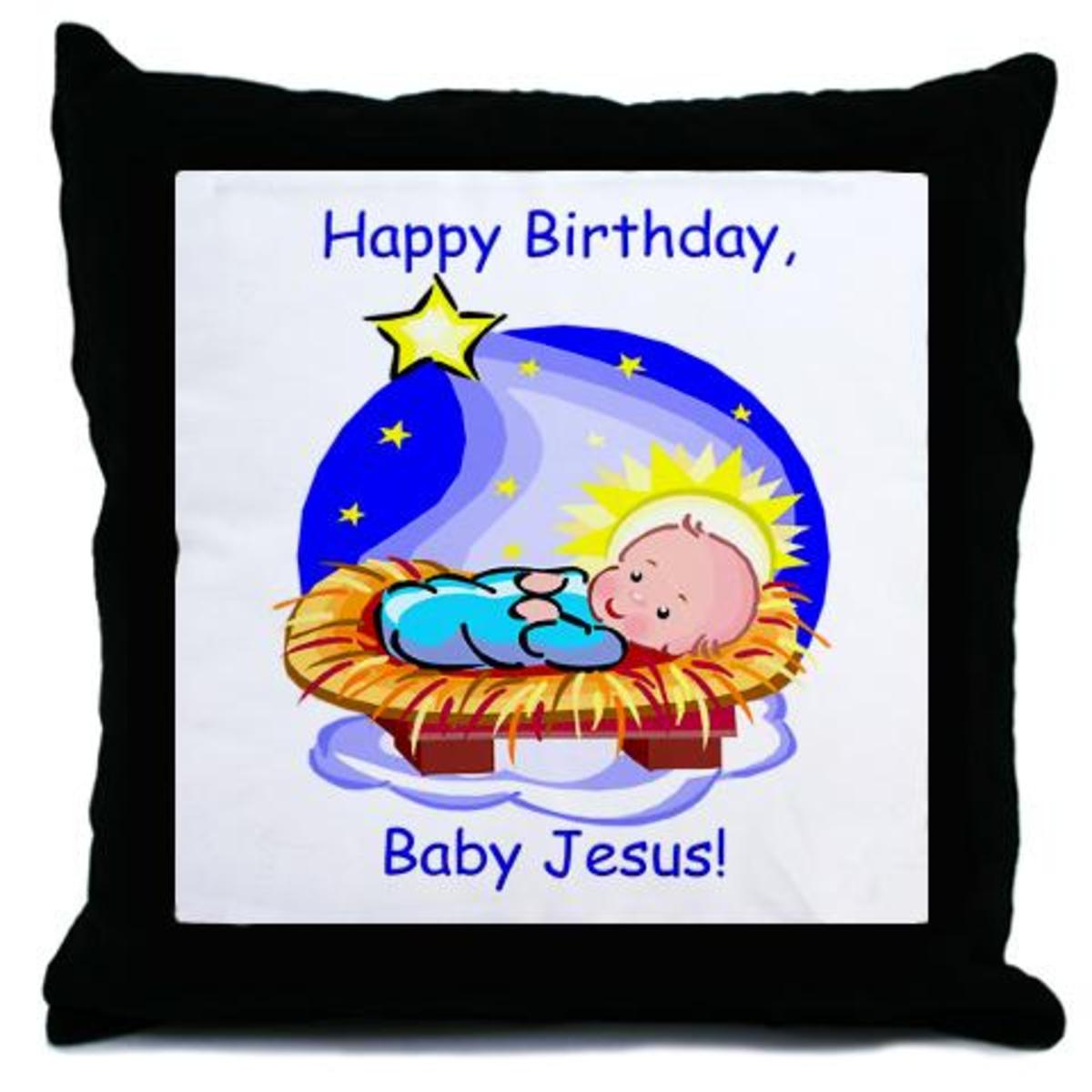 Free Clip Art Happy Birthday Jesus