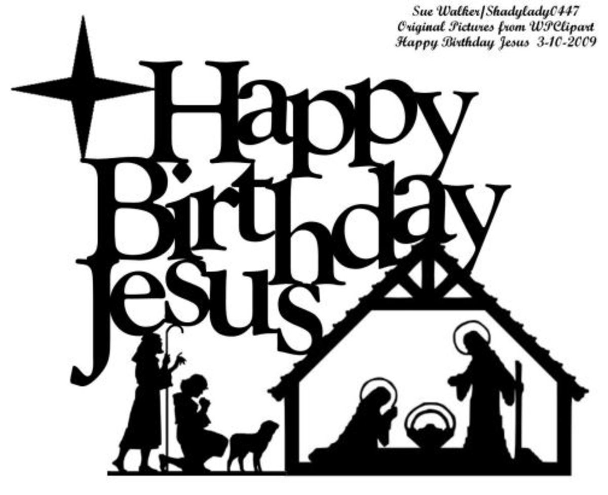 Happy Birthday Jesus Clip Art Hubpages