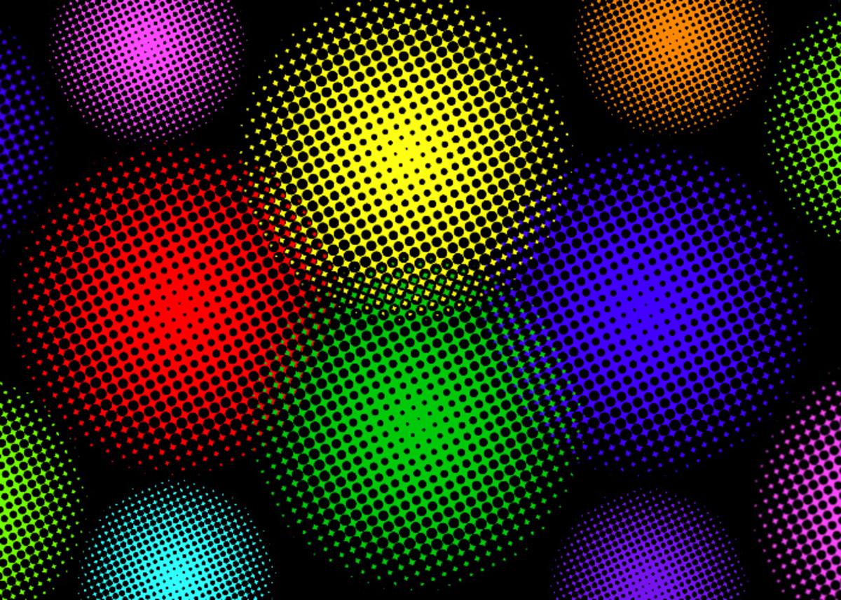 Half tone effect in GIMP
