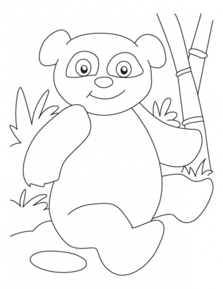 pandaprintablescoloringpages