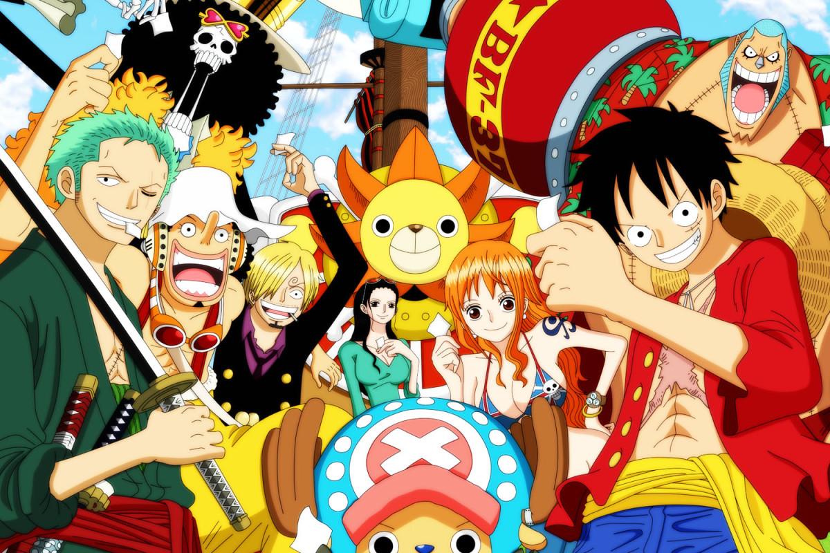 Gallery One Piece Luffy Crew New World