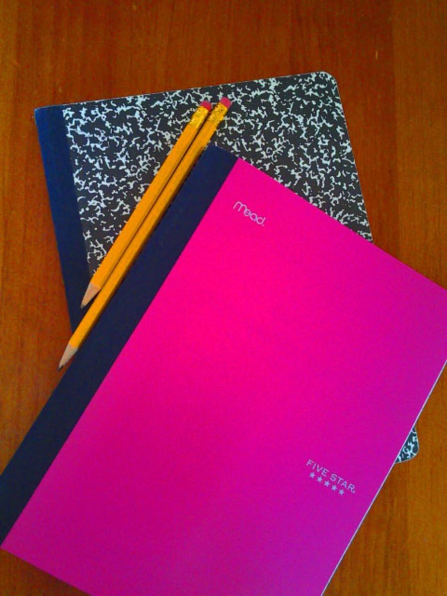 Journals with Pencils