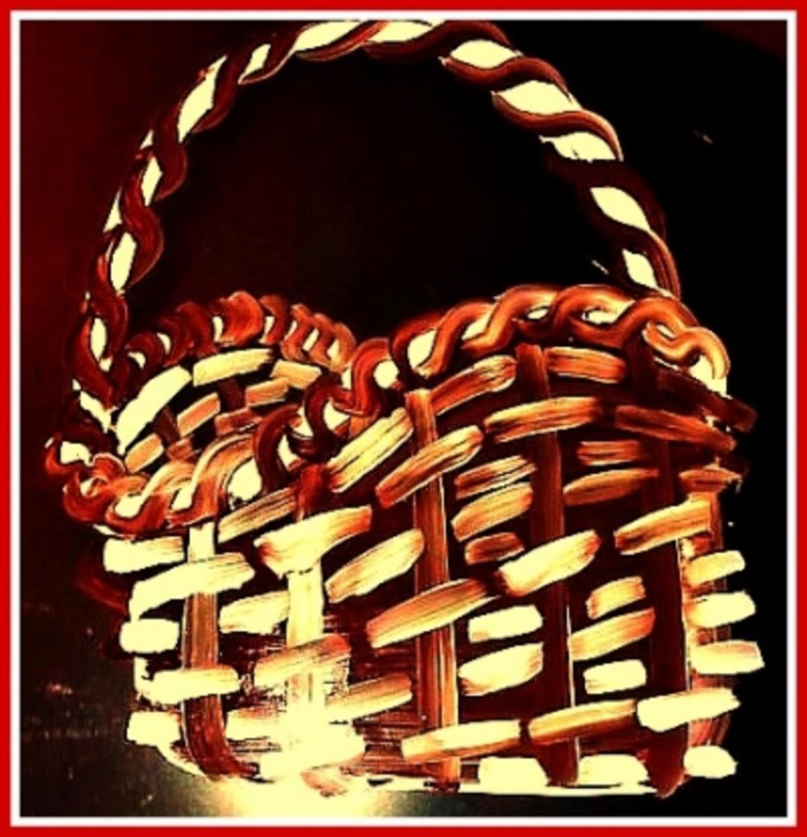 Simple Basket Painting