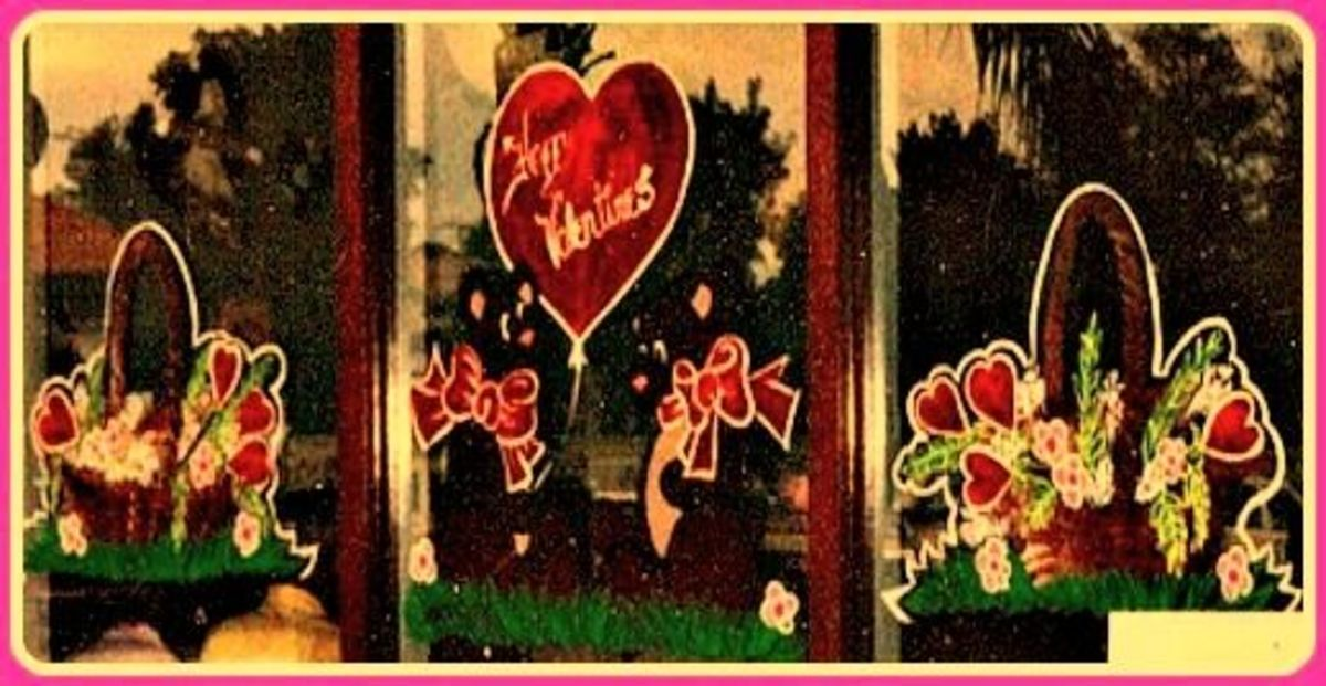 Full Design Valentine's Day 1989 - Image - M Burgess