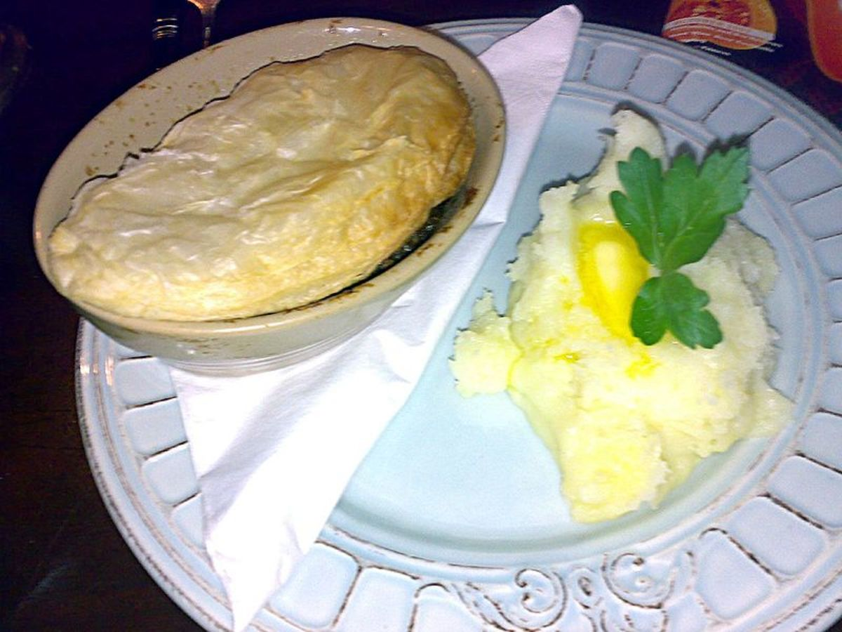 And here we have a game pie, another favourite of the Fuhrer, according to those who knew him best.