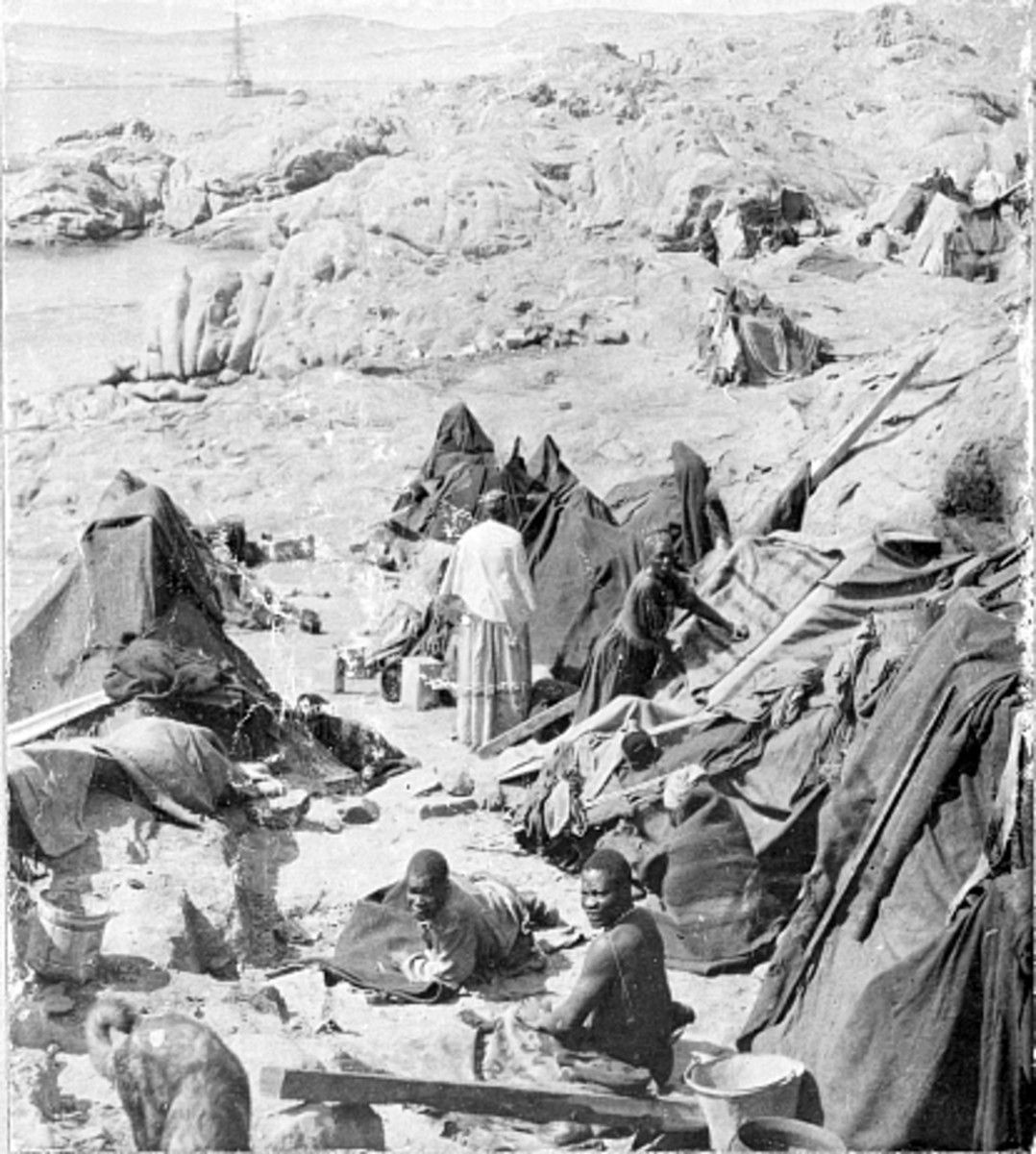 Over 150,000 native Africans died in German run concentration camps in what is now Namibia. According to the UN, it was the first genocide of the 20th century.