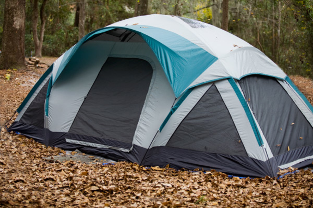 My Family's Multiple Room Dome Tent