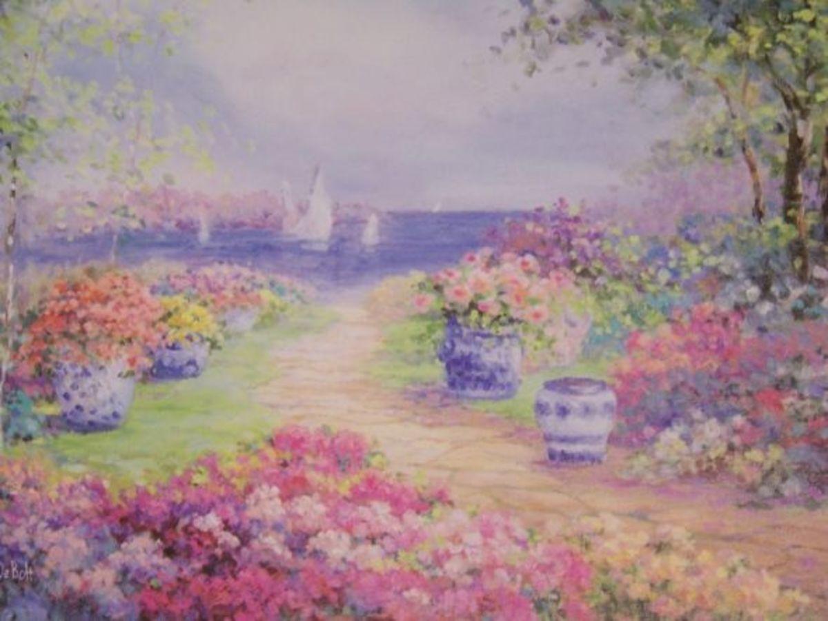 "Thanks to Dondra!  ""Floral Garden Path"""