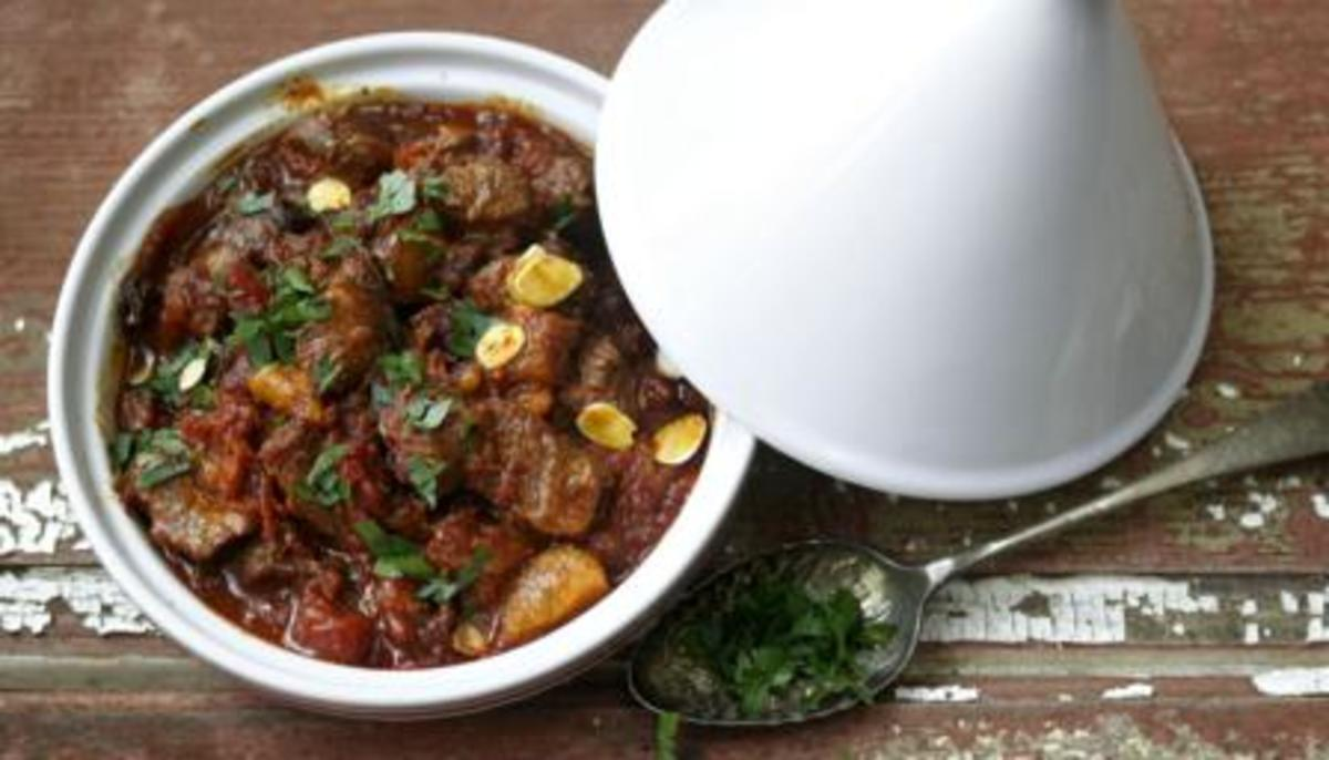 Traditional Lamb Tagine Recipe