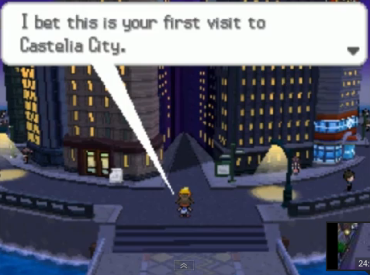 Pokémon Black 2 and White 2 walkthrough, Part Nine: Castelia City
