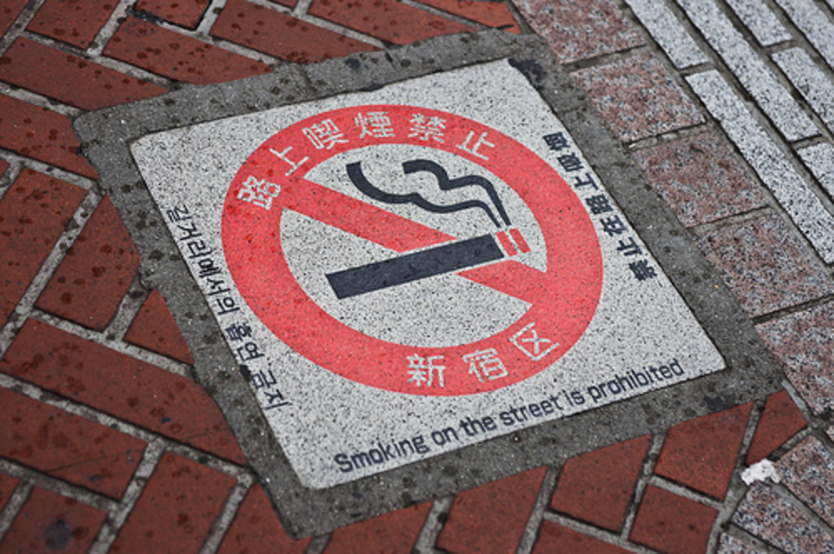 This is seen on the pavement in most major streets in any city