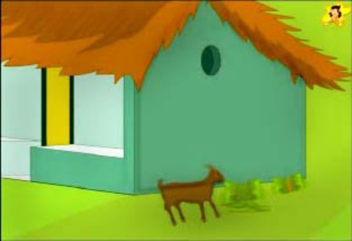 Two silly goats - moral short story with pictures | HubPages
