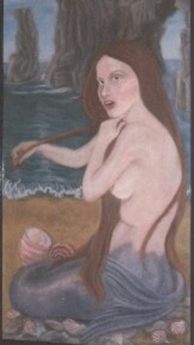 Mermaid by the late Janice Pugsley