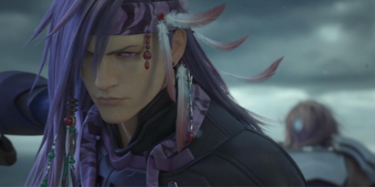 Caius in Final Fantasy 13- Final Fantasy Caius