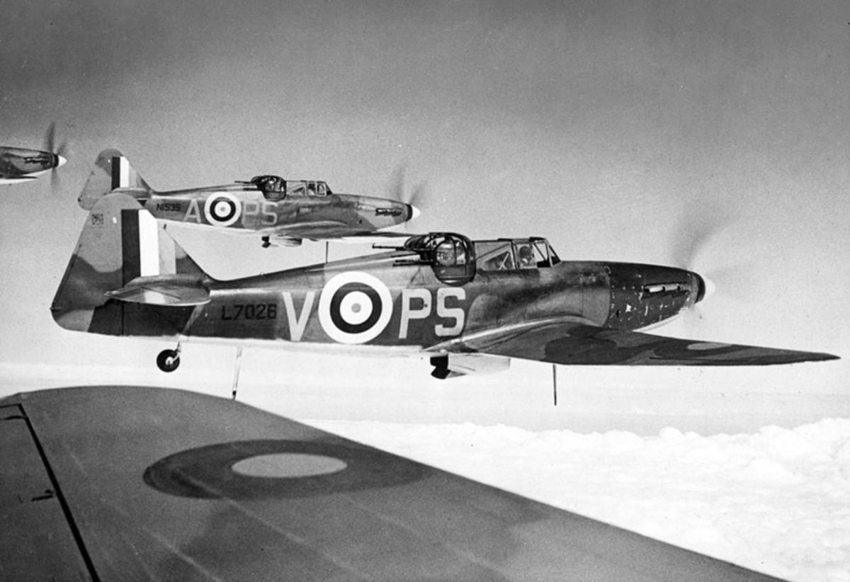 Boulton Paul Defiant Squadron 141