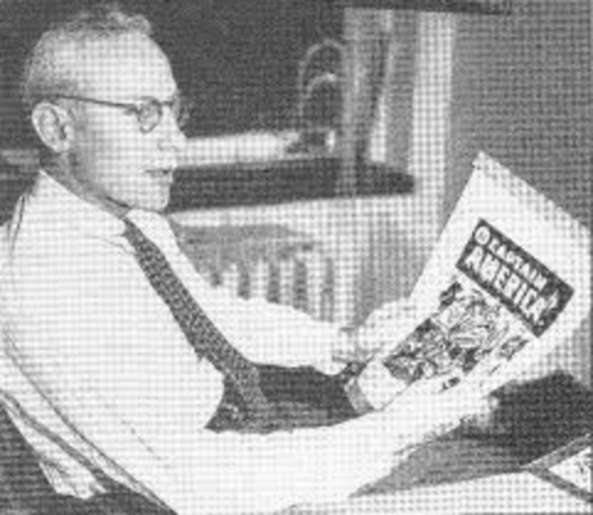 Martin Goodman Marvel Comics editor during the early 60s