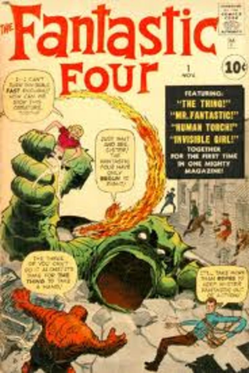 FF debut fighting the Mole Man