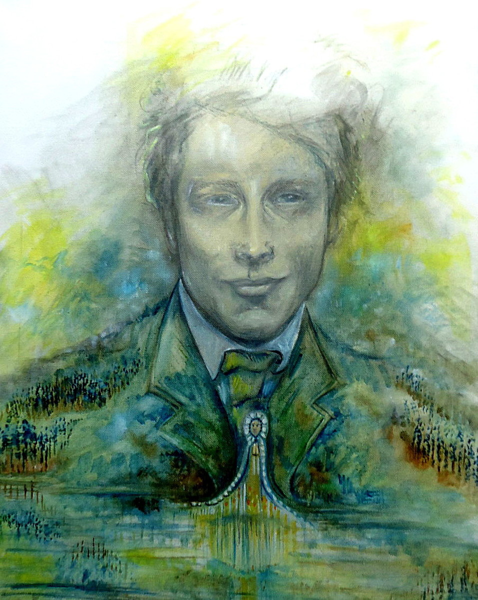 "Portraits of Reinhard Johannes Sorge ""The Youth"" C."