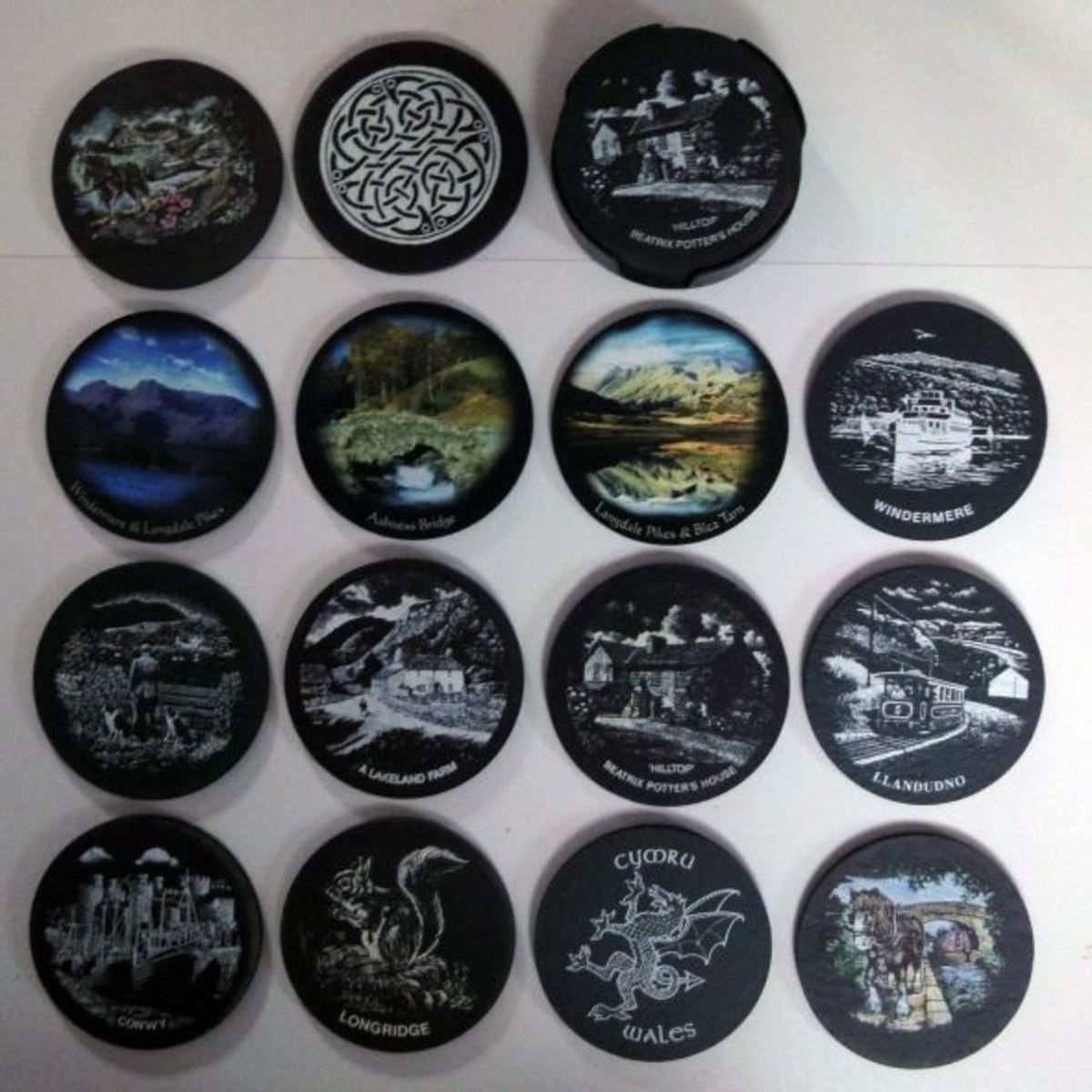 Slate Coaster Collection