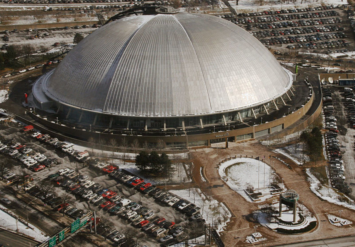 The Civic Arena in Pittsburgh, PA
