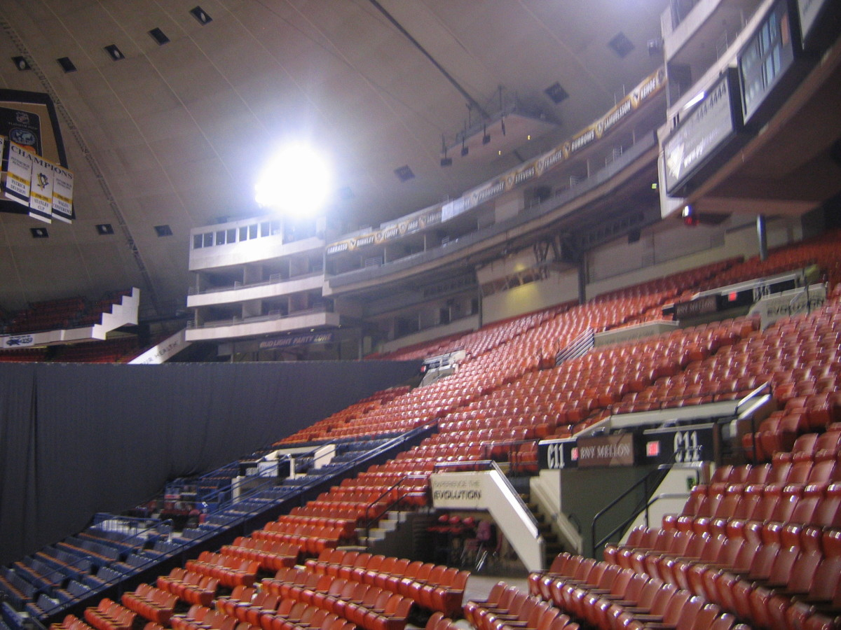 Inside Civic Arena - Mellon Arena 2008