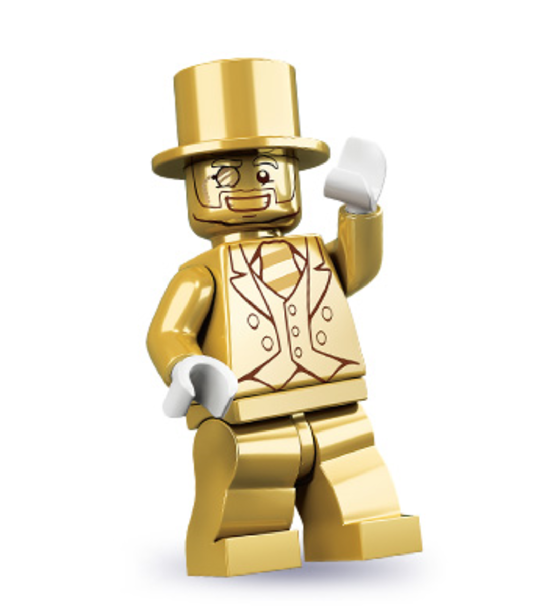 How To Find A Golden Mr Gold Lego Minifigure From Series 10