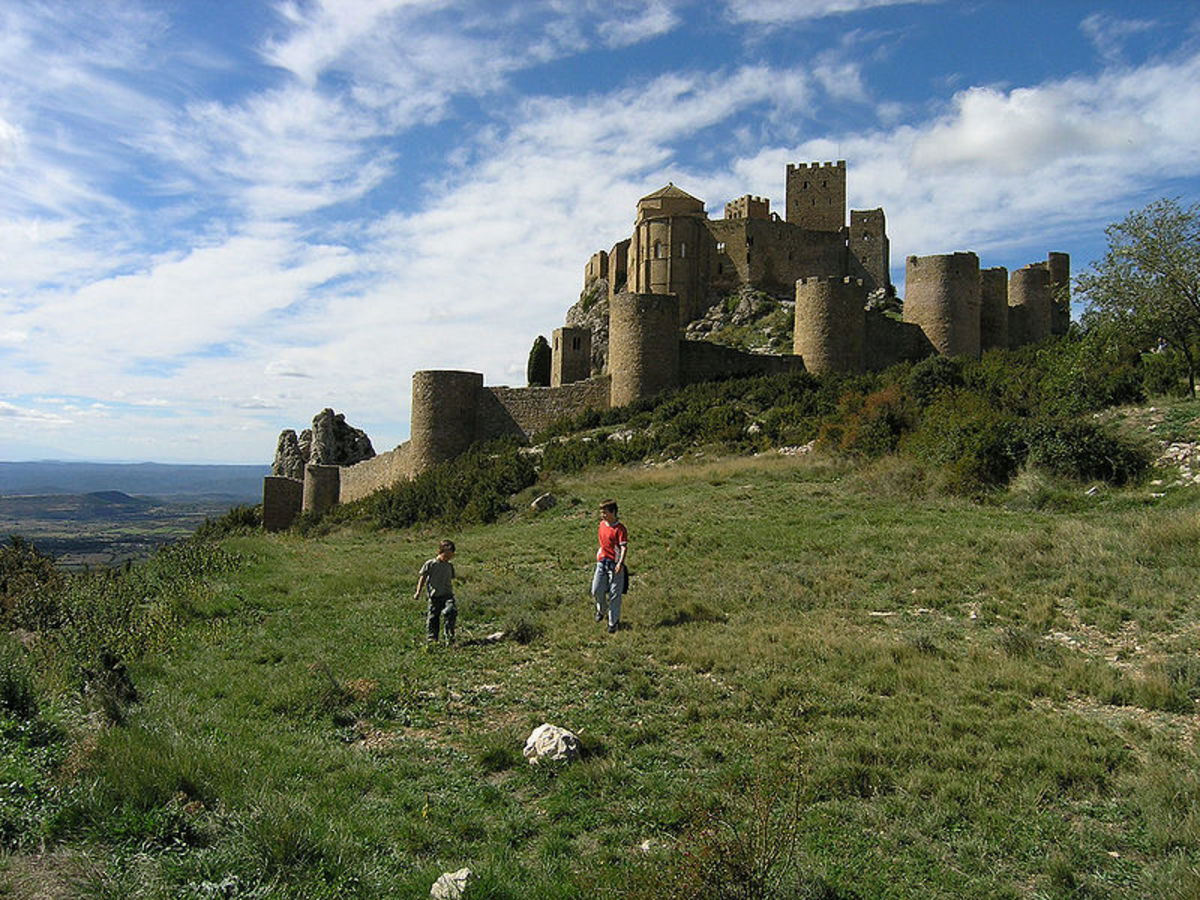From its perch in the Pyrenean foothills in Aragon, this 11th century stronghold commanded what was then the border between Navarra and Muslim Zaragoza.