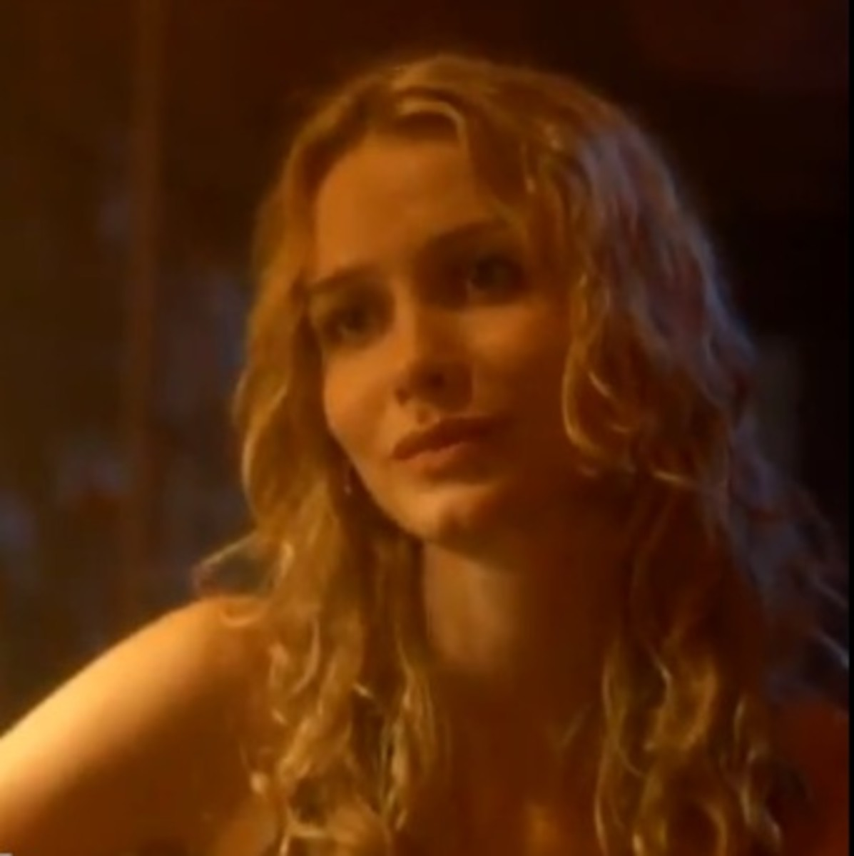 Hot Blonde Saffron Burrows in Tempted as Mrs. Lily LeBlanc