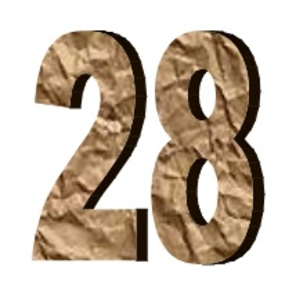 The number 28 (twenty eight). Interesting and fun facts about 28.