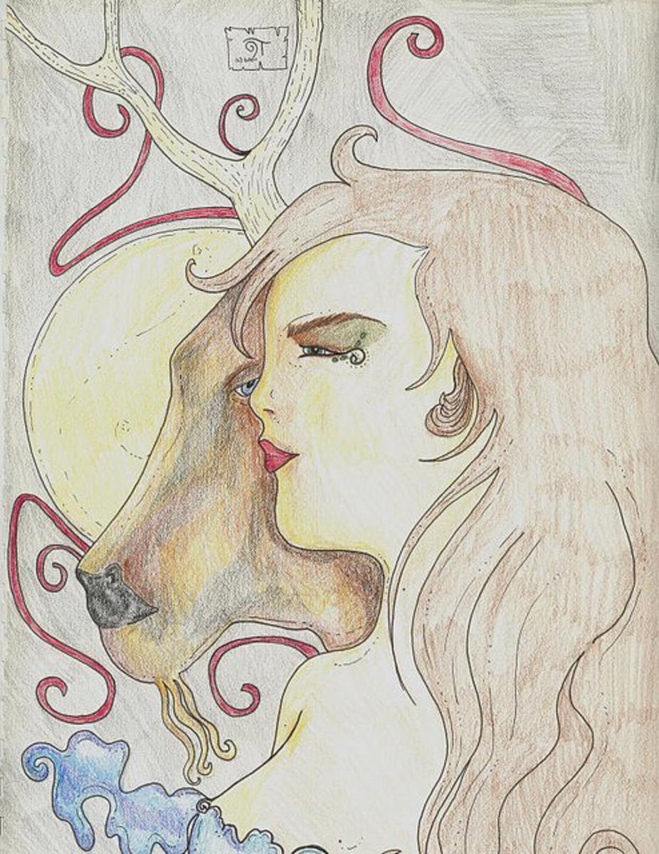 The Goddess Rhiannon