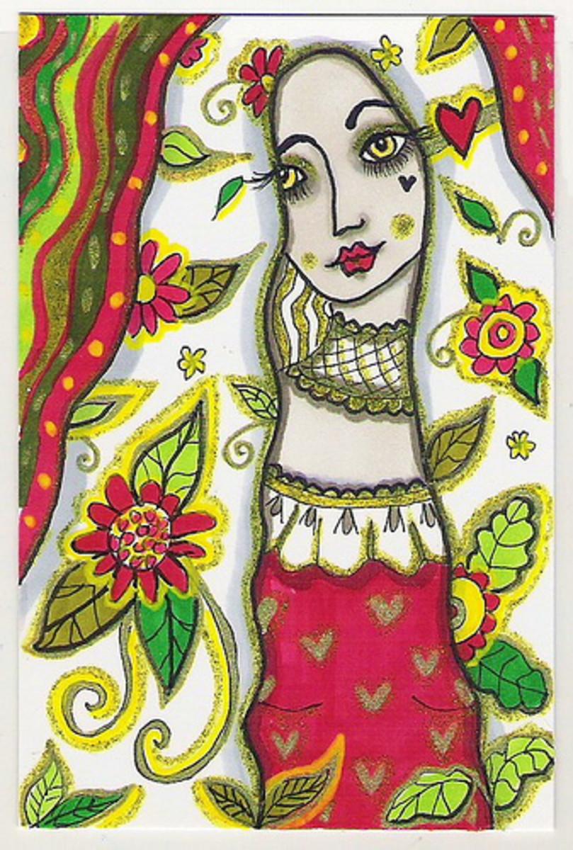 Goddess Olwen Celtic Goddess of Springtime