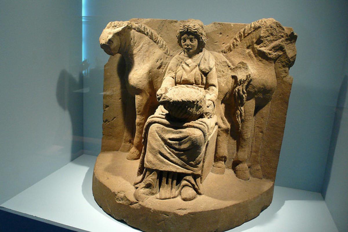 Goddess Epona Celtic Horse Goddess