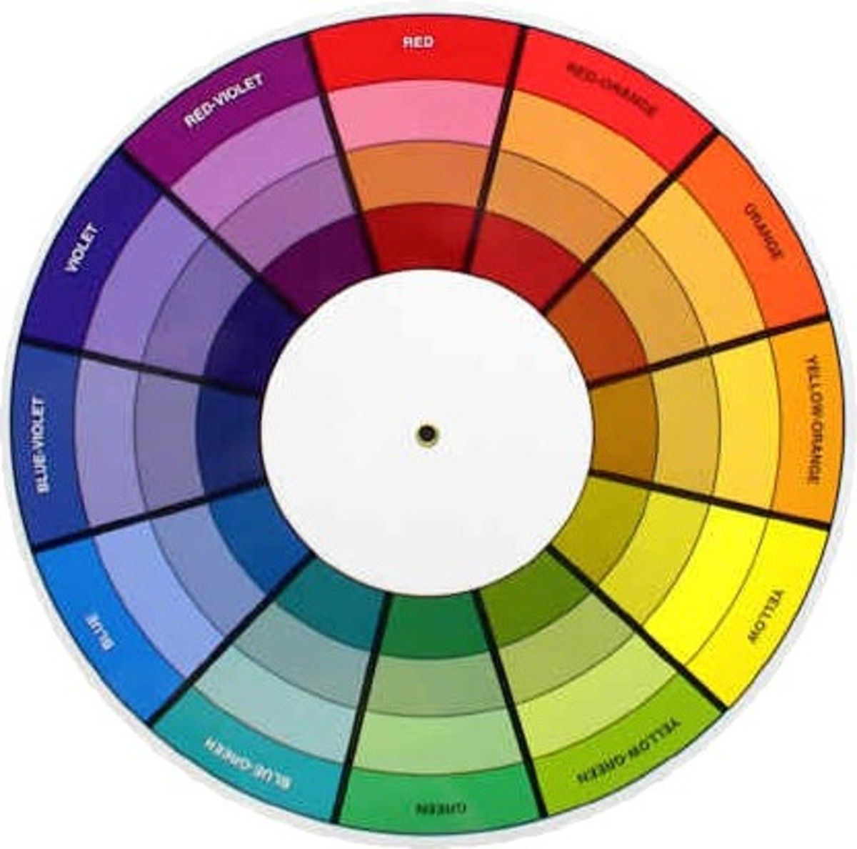 Using the colour wheel can help you pick the best frame colour to compliment your eyes