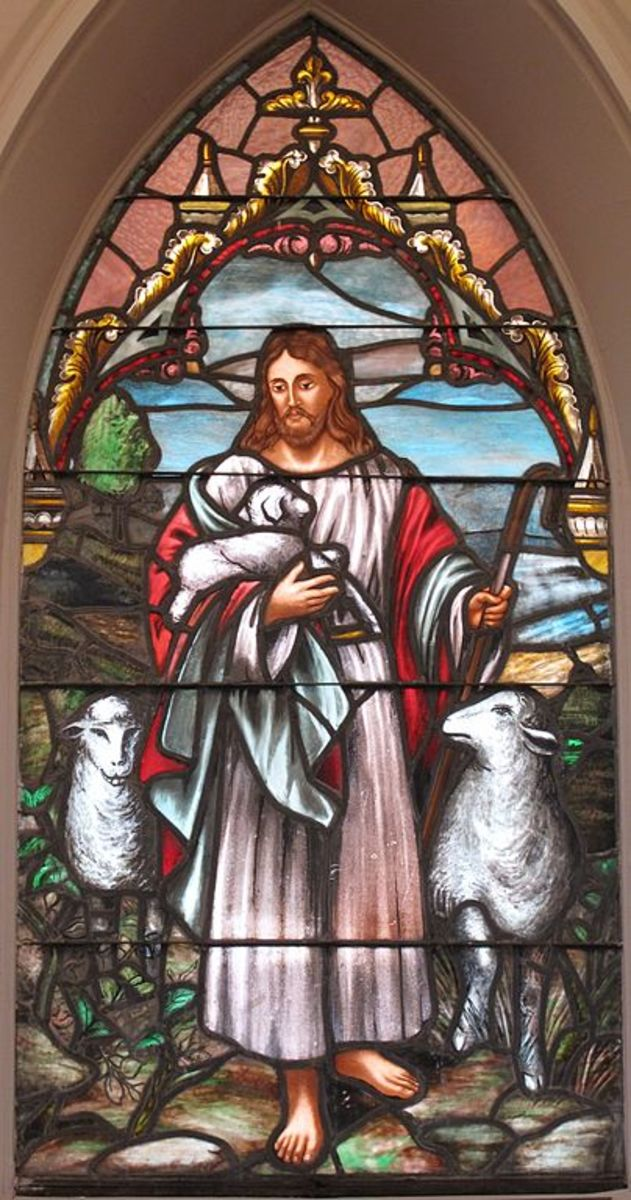 God is our shepherd according to Psalm 23
