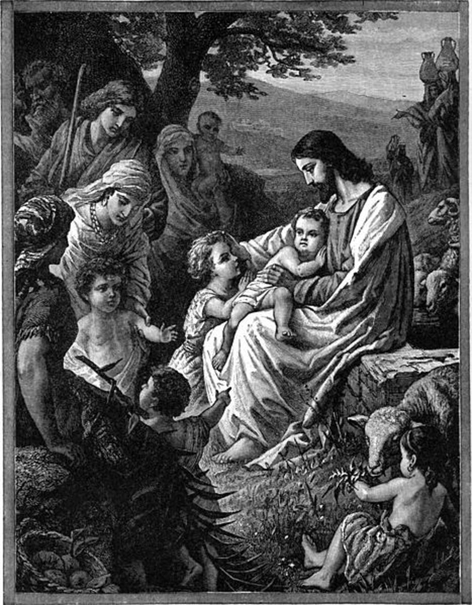 God the father in the Bible is our king, warrior, shepherd and so much more.
