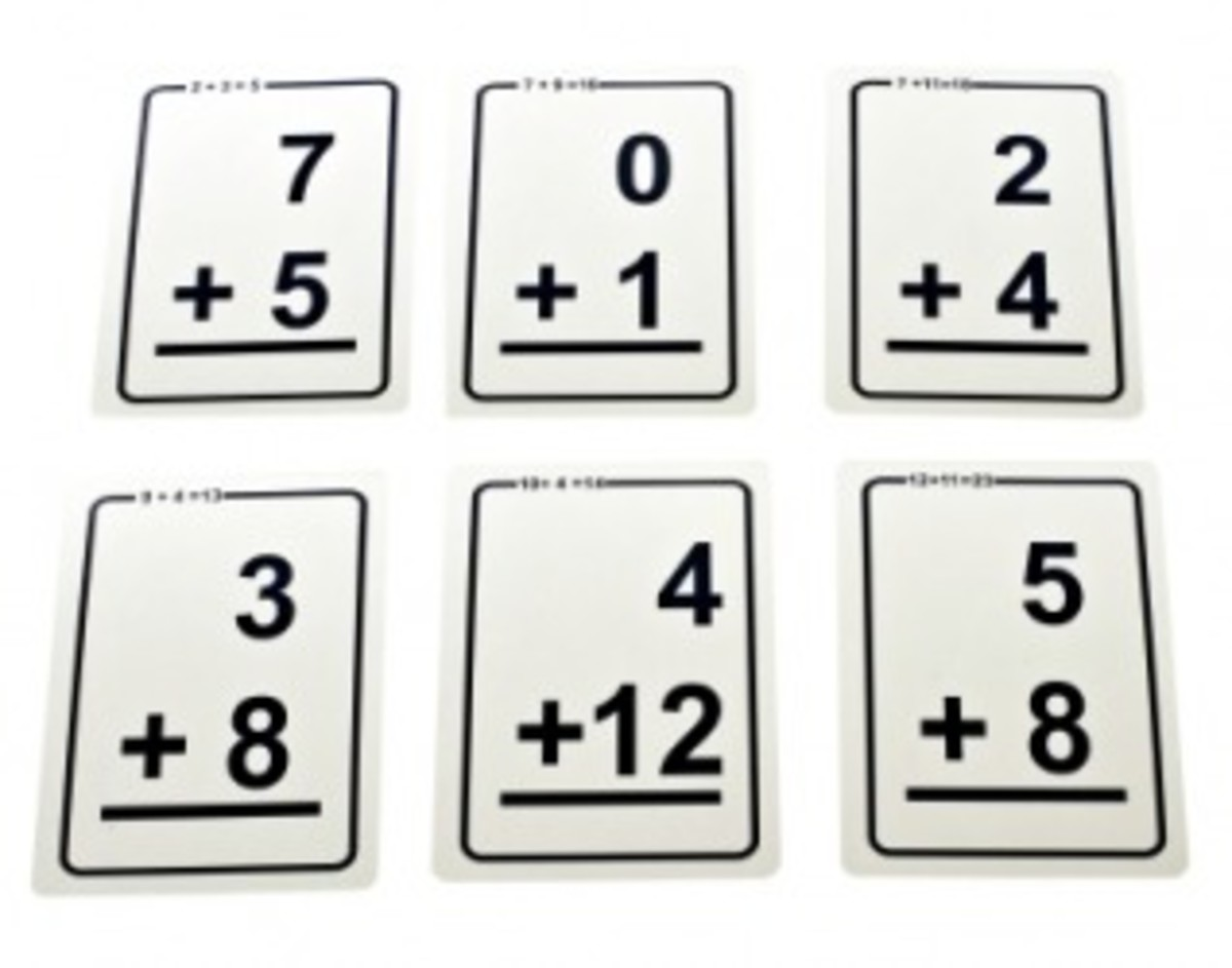 Free Flash Cards for Learning Addition
