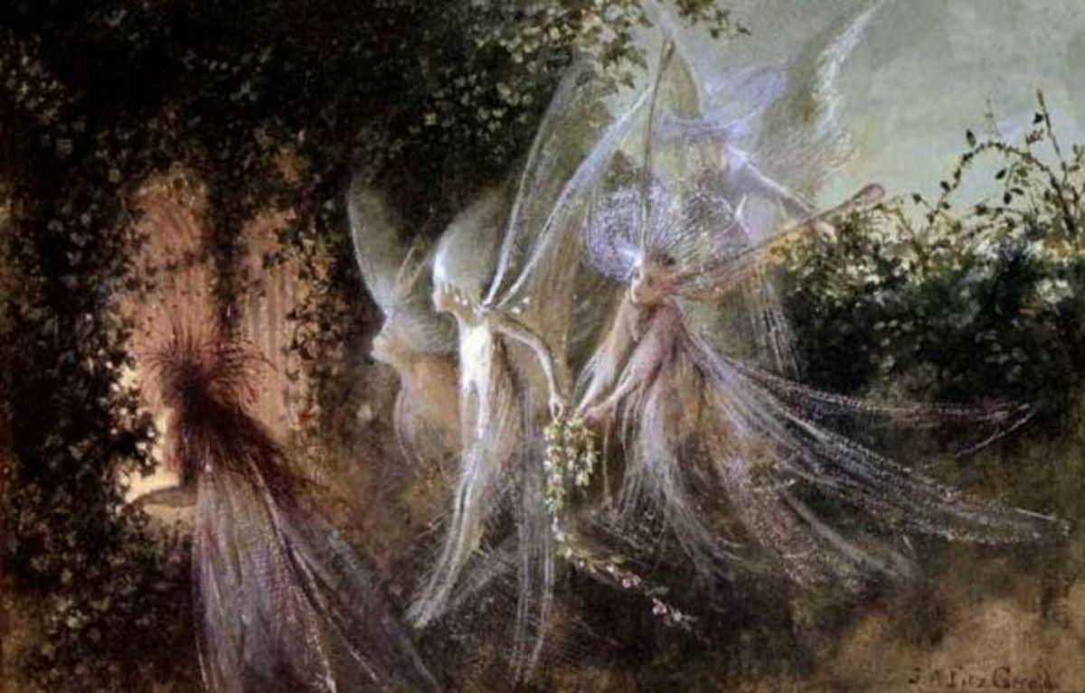Fairies In The Garden