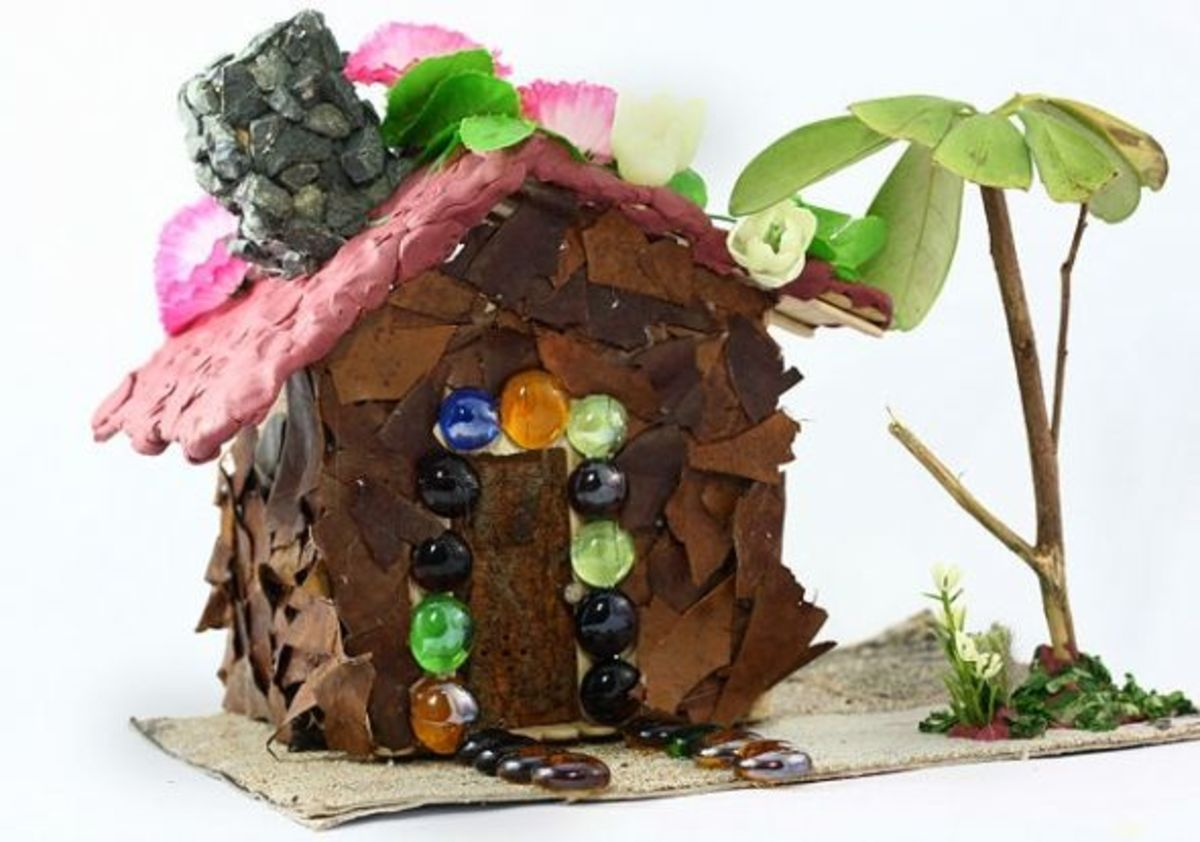 Fairy Houses And Plants In Your Fairy Garden